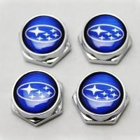 Декоративный болт для номерного знака с логотипом Subaru