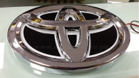 Светящийся логотип TOYOTA Rav4,светящаяся эмблема TOYOTA Rav4,светящийся логотип на авто TOYOTA Rav4,светящийся логотип на автомобиль TOYOTA Rav4,подсветка логотипа TOYOTA Rav4,2D,3D,4D,5D,6D