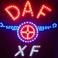 Светящийся логотип DAF XF