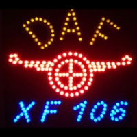 Светящийся логотип DAF XF 106