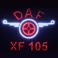 Светящийся логотип Daf XF105