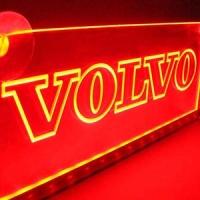Светящаяся табличка Volvo 2D